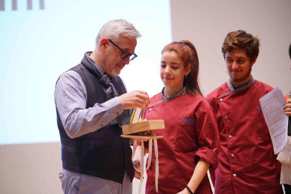 Luigi Ballerini riceve la chiave di lettura del Premio Galdus_tn