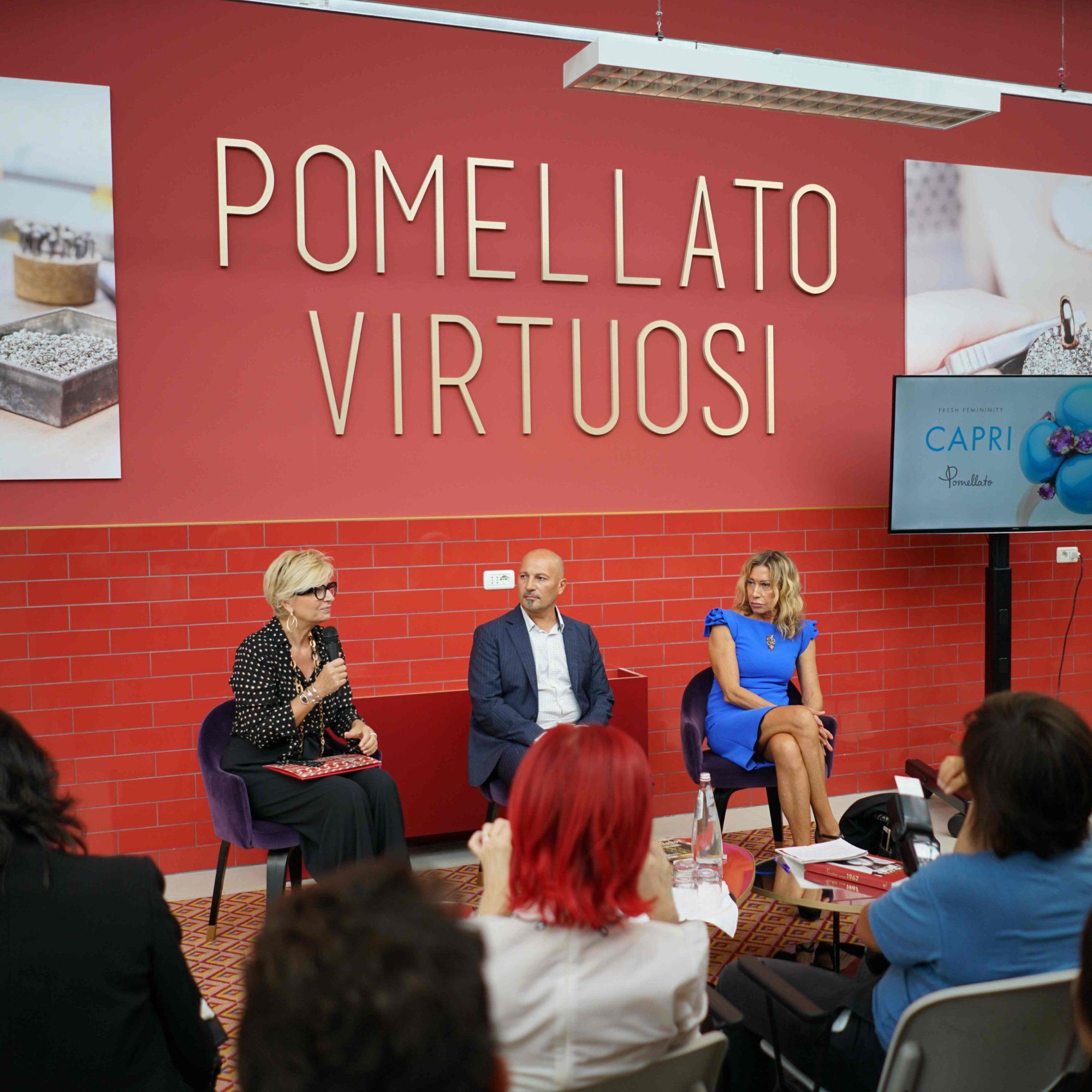 Conferenza stampa Pomellato - Galdus_tn